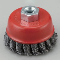 twisted knot cup wire brush