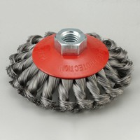 twisted Bevel wire brush