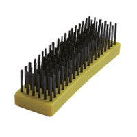 Curved Block Plastic Hand Brushes