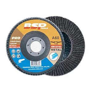2 inch 1 – Calcined Alumina 100mm flap discs for Stainless Steel & Metal