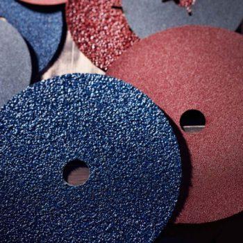 fiber disc-abrasive tool