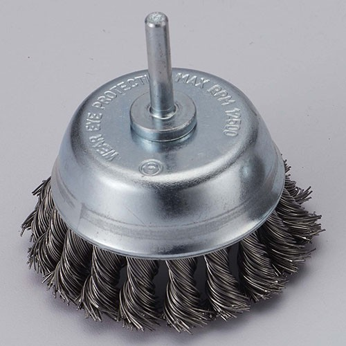 Shaft Mounted Twistwire cup brush