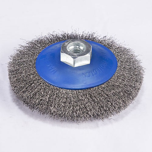 crimped wire Bevel brush with crimped wire Bevel brush