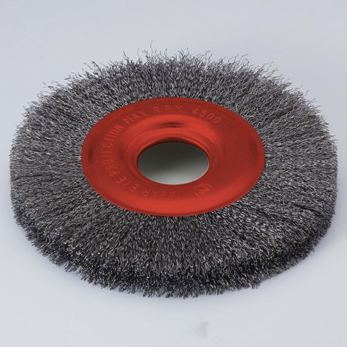 crimped wire wheel brush for angle grinder
