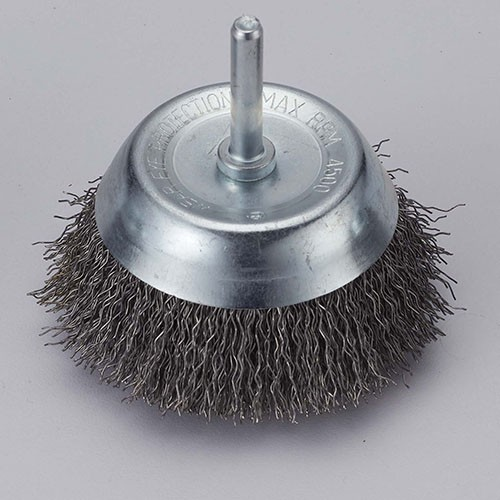 Standard Shaft Mounted Crimped wire cup brush