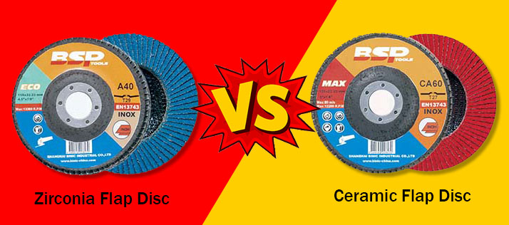 Zirconia vs Ceramic Flap Disc